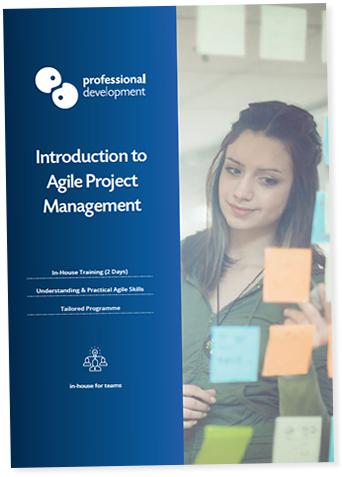 Introduction to Agile Course Brochure
