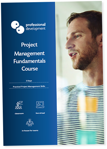 Project Management Fundamentals Course Brochure