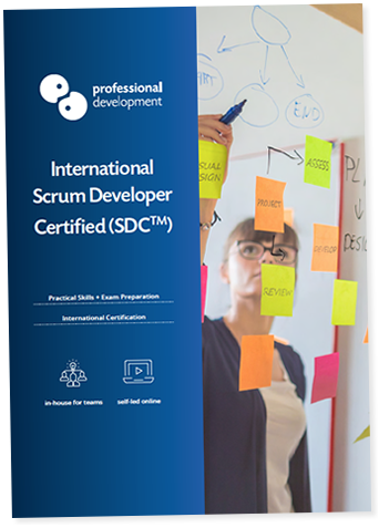 Scrum Developer Certified Course Brochure