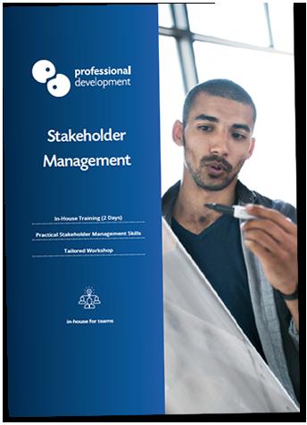 Stakeholder Management Training Brochure